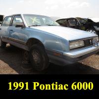 Junkyard 1991 Pontiac 6000 LE