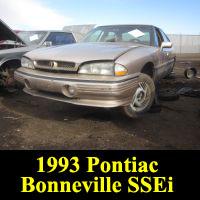 Junkyard 1993 Pontiac Bonneville SSEi
