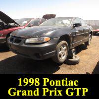 Junkyard 1998 Pontiac Grand Prix GTP