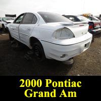 Junkyard 2000 Pontiac Grand Am GT
