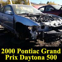 Junkyard 2000 Pontiac Grand Prix Daytona 500 Edition