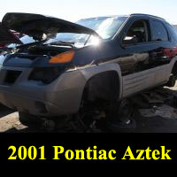 Junkyard 2001 Pontiac Aztek
