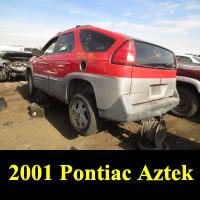 Junkyard 2001 Pontiac Aztek AWD