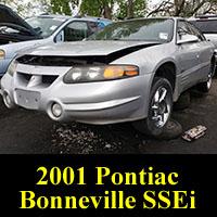 Junkyard 2001 Pontiac Bonnevile SSEi