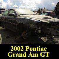 Junkyard 2002 Pontiac Grand Am GT