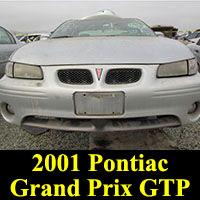 Junkyard 2001 Pontiac Grand Prix GTP