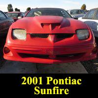 Junkyard 2001 Pontiac Sunfire