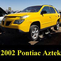 Junkyard 2002 Pontiac Aztek