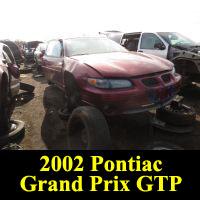 Junkyard 2002 Pontiac Juggalambo