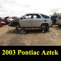 Junkyard 2003 Pontiac Aztek