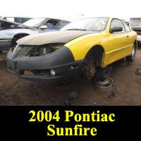 Junkyard 2004 Pontiac Sunfire