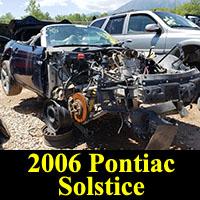 Junkyard 2006 Pontiac Solstice