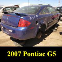 Junkyard 2007 Pontiac G5