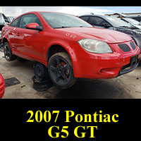 Junkyard 2007 Pontiac G5 GT