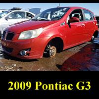 Junkyard Pontiac G3
