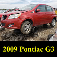 Junkyard Pontiac G3 Wave