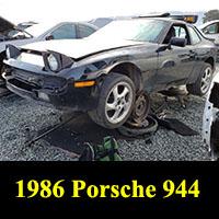 Junkyard 1986 Porsche 944