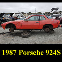 Junkyard 1987 Porsche 924S