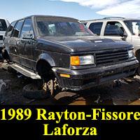 Junkyard 1989 Rayton-Fissore Laforza