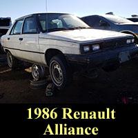 Junkyard 1986 Renault Alliance
