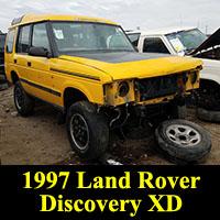 Junkyard 1996 Land Rover Discovery XD