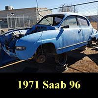 Junkyard 1971 Saab 96