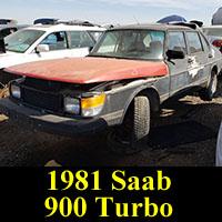 Junkyard 1981 Saab 900 Turbo