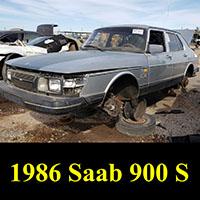Junkyard 1986 Saab 900S