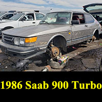 Junkyard 1986 Saab 900 Turbo