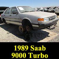 Junkyard 1989 Saab 9000 Turbo