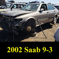 Junkyard 2002 Saab 9-3