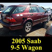 Junkyard 2005 Saab 9-5 Wagon