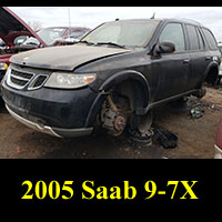 Junkyard 2005 Saab 9-7X