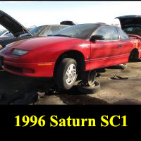Junkyard 1996 Saturn SC1