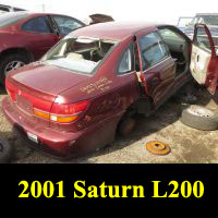 Junkyard 2001 Saturn L200