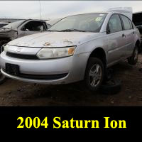 Junkyard 2004 Saturn Ion