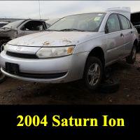 Junkyard 2004 Saturn Ion