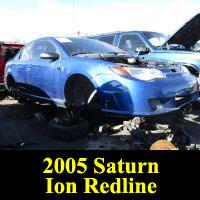 Junkyard 2005 Saturn Ion Redline