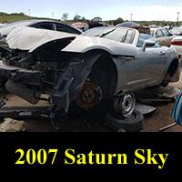 Junkyard 2007 Saturn Sky
