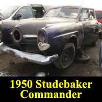 Junkyard 1950 Studebaker Commander