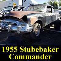 Junkyard 1955 Studebaker Commander