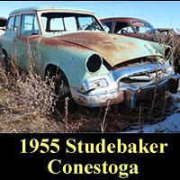 Junkyard 1955 Studebaker Wagon