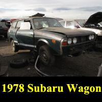Junkyard 1978 Subaru GL wagon