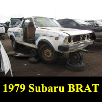 Junkyard 1979 Subaru BRAT