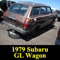 Junkyard 1979 Subaru GL Wagon
