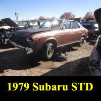 Junkyard 1979 Subaru GL