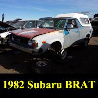 Junkyard 1982 Subaru BRAT