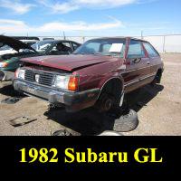 Junkyard 1982 Subaru GL