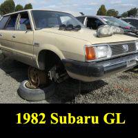 Junkyard 1982 Subaru GL Wagon