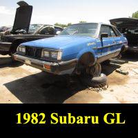 Junkyard 1982 Subaru L Coupe